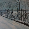 Bhavisha Patel: Bicycles In Snow