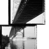 James B. Abbott: Camden Side, Ben Franklin Bridge, 07.28.2001