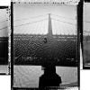 James B. Abbott: Bridge Shadow, Ben Franklin Bridge, 02.17.2002