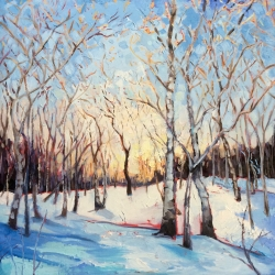 Addison Namnoum: Snowy Wood