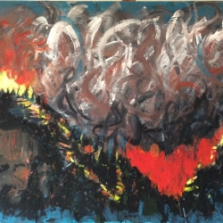 Phyllis Anderson: 416 Fire, Hermosa Cliffs