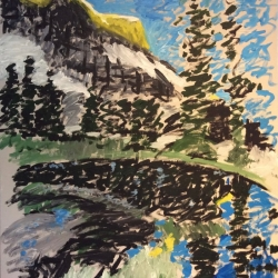 Phyllis Anderson: Mountain Reflection