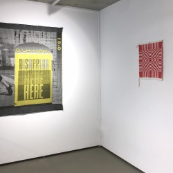 Annette Cords: Breaking the Grid (installation view)