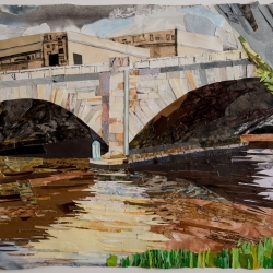Cynthia Back: Schuylkill Banks Bridge #2