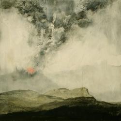 Donna Backues: Volcanoscape II
