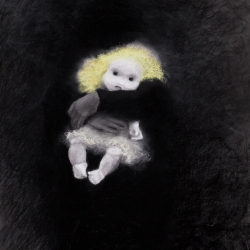 Donna Backues: White Doll