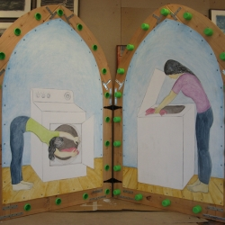 Jennifer Bake: Laundry Shrine