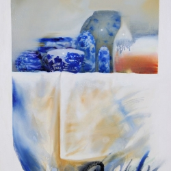 Bettina Clowney: Blue Ware