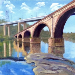 Bhavisha Patel: Bridge VII (Bridge Over Schuykill River)