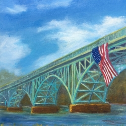 Bhavisha Patel: Strawberry Mansion Bridge I