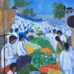 Bhavisha Patel: Vegetable Market, Mumbai, India
