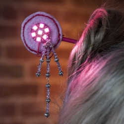 Leslie Birch: Electric Kanzashi