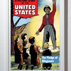 "Matthew Borgen: A Picture Story of the United Stated ""Pledge of Allegiance"""