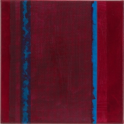 Emily Brett Lukens: Red with Blue Stripes