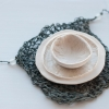 Jennifer Brinton Robkin: Bowl and Plate with Net