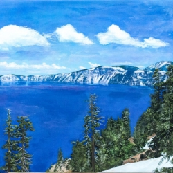 Christopher Brown + Ruth Miller: Crater Lake
