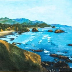 Christopher Brown + Ruth Miller: Cannon Beach Asteria