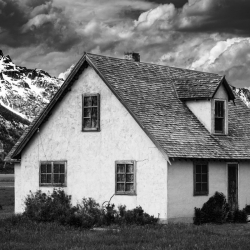 Christopher Brown: Mormon Row House The Grand Tetons