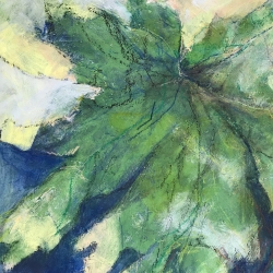 Judy Caldwell: Tropical Leaf