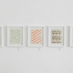 Carla Weeks: Watercolor Pattern Study Series