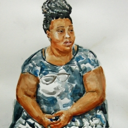 Cathleen Cohen: Seated Woman
