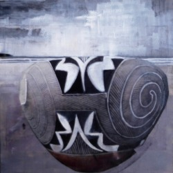 Christina Penrose: #2 acoma pottery/#2 american indian series