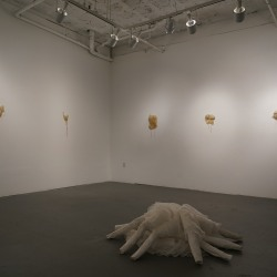 Christy E. O'Connor: Victim Shame, Body-Blame (installation shot)