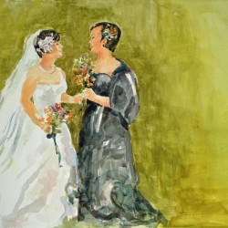 Cathleen Cohen: Two Brides