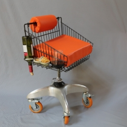 Deanna Dee McLaughlin: Office Chair With Snacks