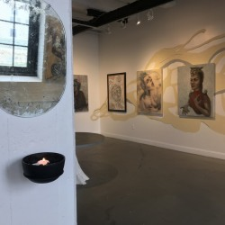 Muses Guardians and Saints, Installation Shot