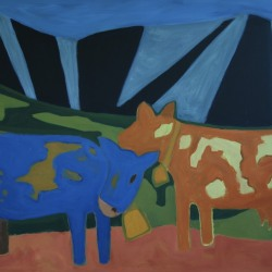 M. Pia De Girolamo: Mountain and Cows