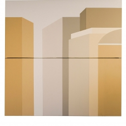 Debra Devor: City 5, diptych