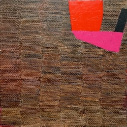 Dolores Poacelli: WALL/RedPink