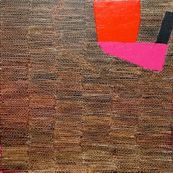Dolores Poacelli: Wall_Big Red Pink