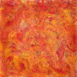 Patricia Dusman: Orange Turmoil