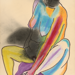 Mildred Elfman Greenberg: Nude