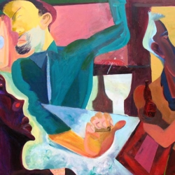 Ellen Abraham: bar-seen