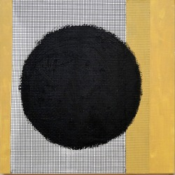 Emily Brett Lukens: Study #3 (Optical Black Circle)