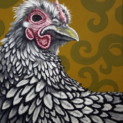 Eric Fausnacht: Silver-laced Hen