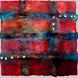 Dora Ficher: Untitled Red