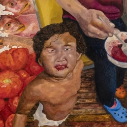 Gary Grissom: Yuri, a Bowl of Cherries, Fish Heads, Tomatoes