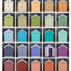 Judy Gelles: Sunrise / Sunset (grid of 25)