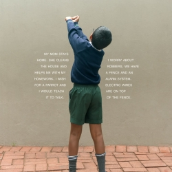 Judy Gelles: The Fence (South Africa: Public School)