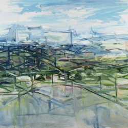 Fran Lightman Gibson: Constructed Landscape-Beyond My Wildest Dreams