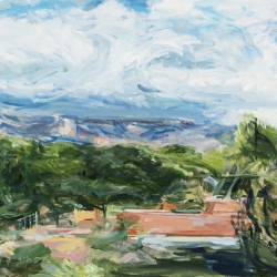 Fran Lightman Gibson: Mountain and Sky Steps