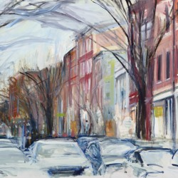 Fran Lightman Gibson: Late Autumn Evening in Old City