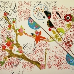 Gilvan Nunes: Cherry and Birds