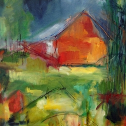 Nancy E. F. Halbert: Towards The Barn