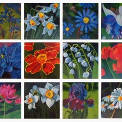 Jenn Hallgren: Birth Month Flowers