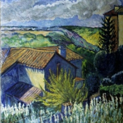 Helene Halstuch: Towards Charroux